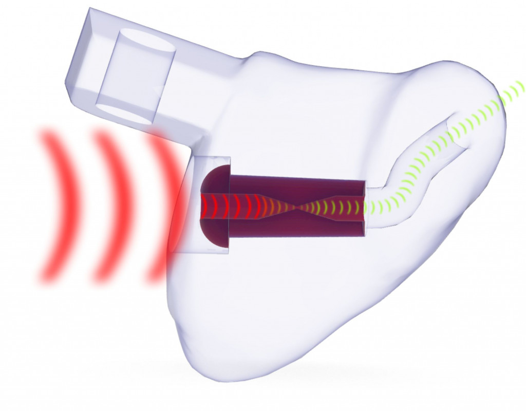 EARfoon Gehörschutz-Otoplastik mit Kanalfilter