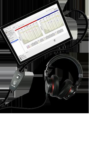 EARfoon Messung der individuellen Dämpfungsleistung