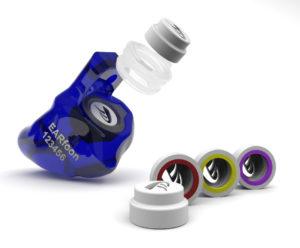 BlueFit-X Gehörschutz-Otoplastik